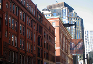 boston leather district street