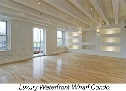 boston waterfront luxury condo