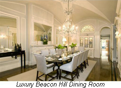 beacon hill luxury dining room