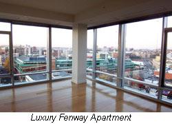 luxury fenway apartment