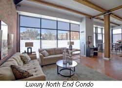 luxury north end condo