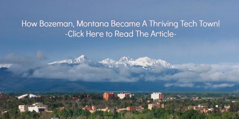 Bozeman, Montana Western Tech Town