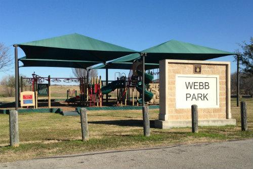 Webb Park, Crandall, TX