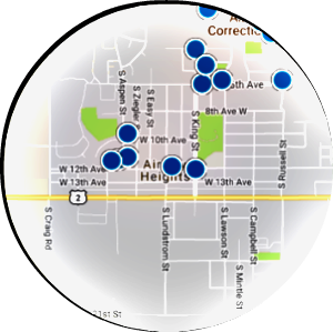Airway Heights Real Estate Map Search