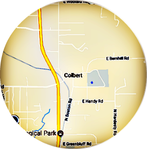 Colbert Real Estate Map Search