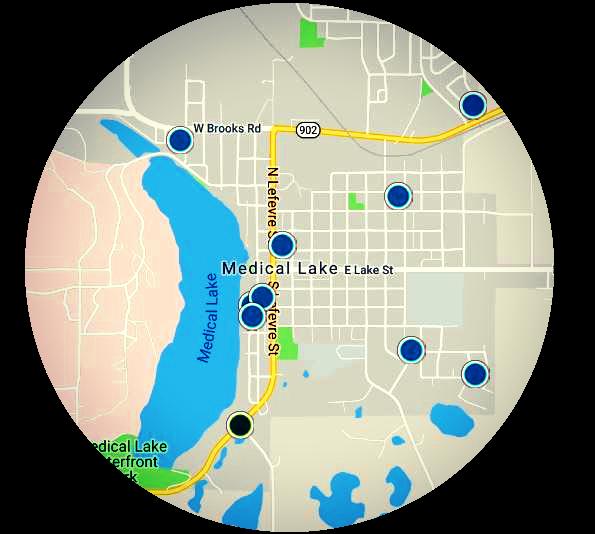 Medical Lake Real Estate Map Search
