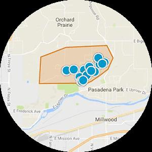 Northwood Estates Real Estate Map Search
