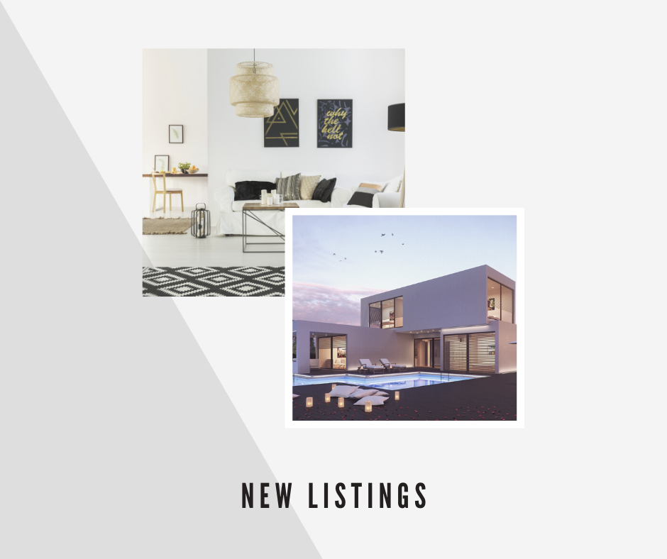 New Real Estate Listings