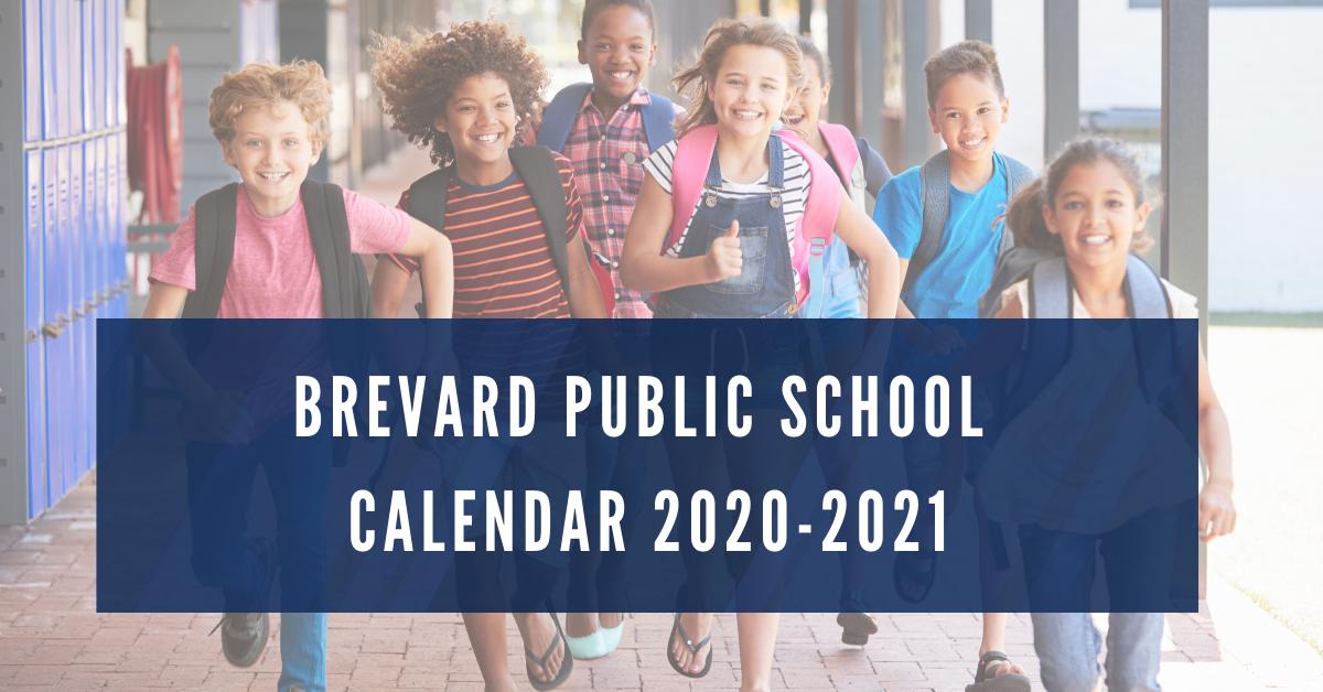 Brevard Public School Calendar 2020 2021