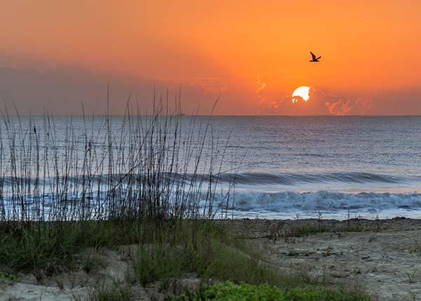 cocoa beach sunset