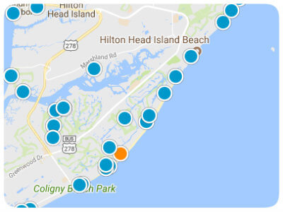 Hilton Head Island Real Estate Map Search