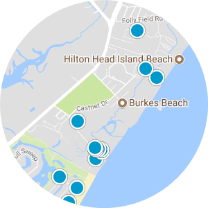 Hilton Head Off Plantation Real Estate Map Search