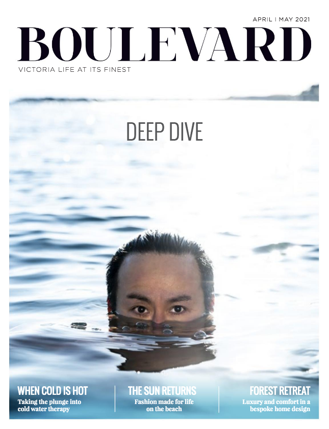 Front cover of Boulevard Magazine, April/May 2021