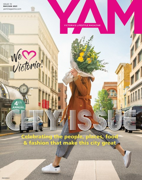 Front cover of YAM Magazine, May/Jun 2021