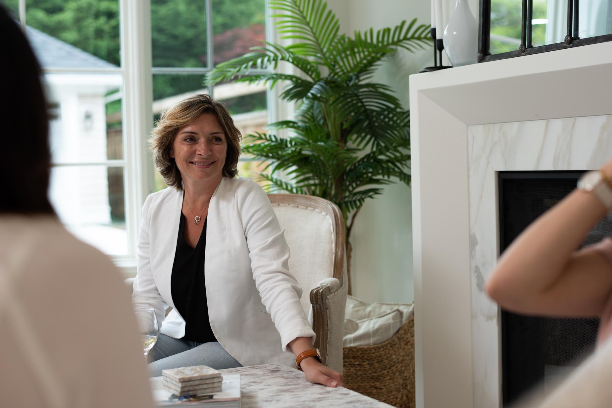 Nancy working