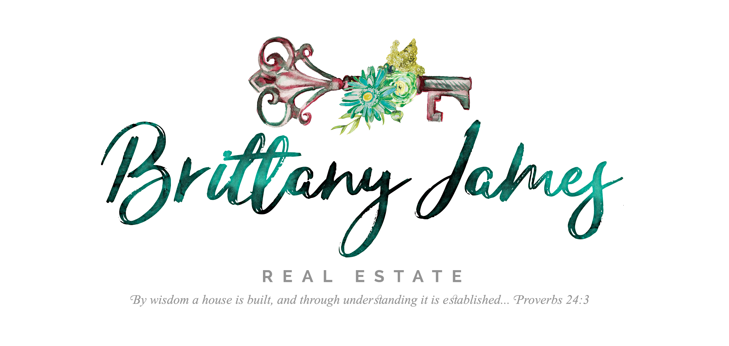 Brittany James Real Estate Logo