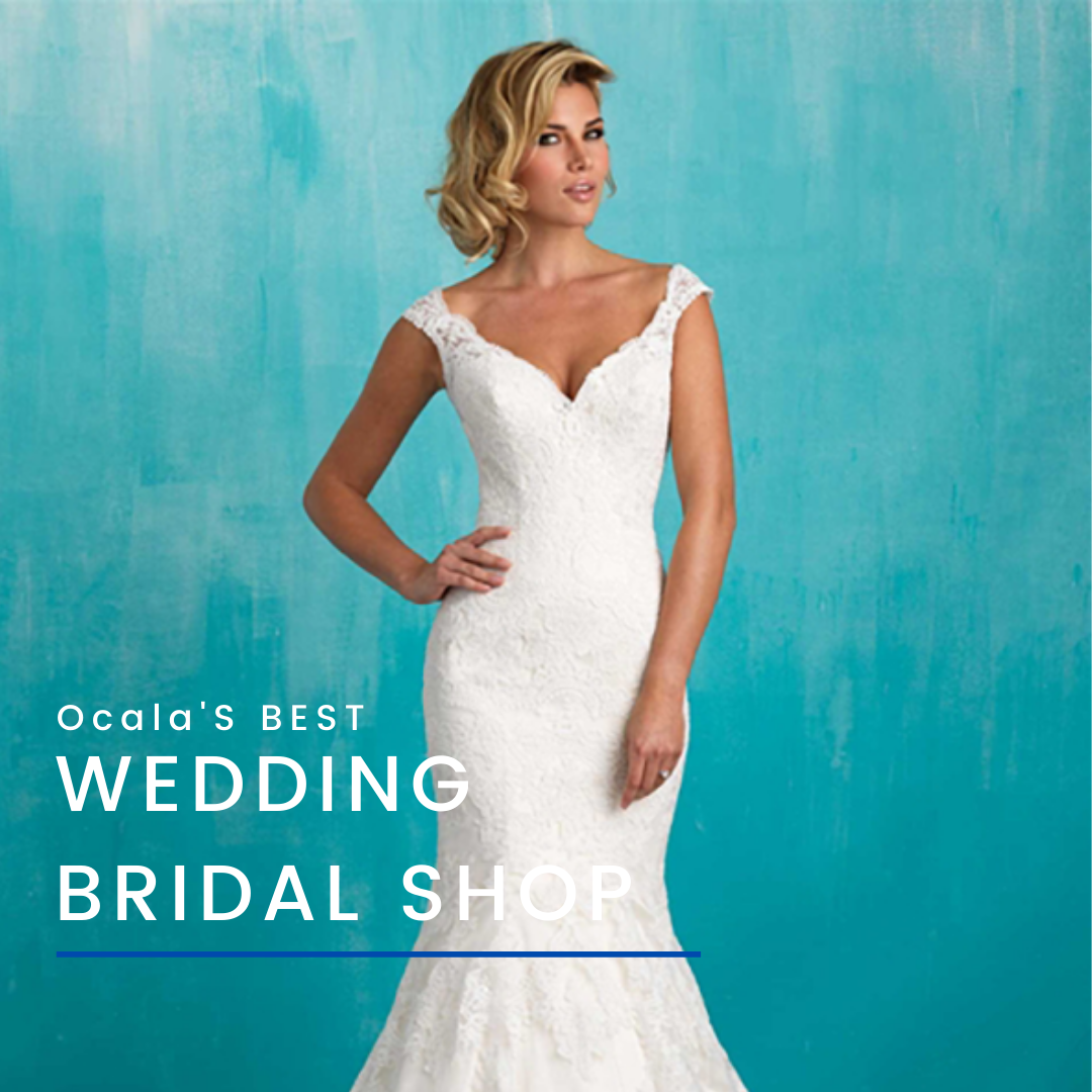 Picture of bridal gown