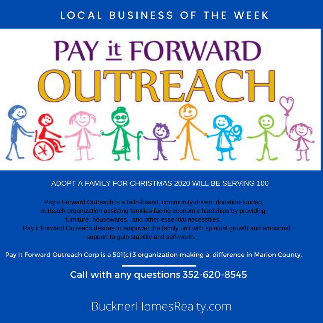 Pay it Forward Outreach