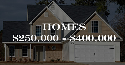 Homes $250,000 to $400,000
