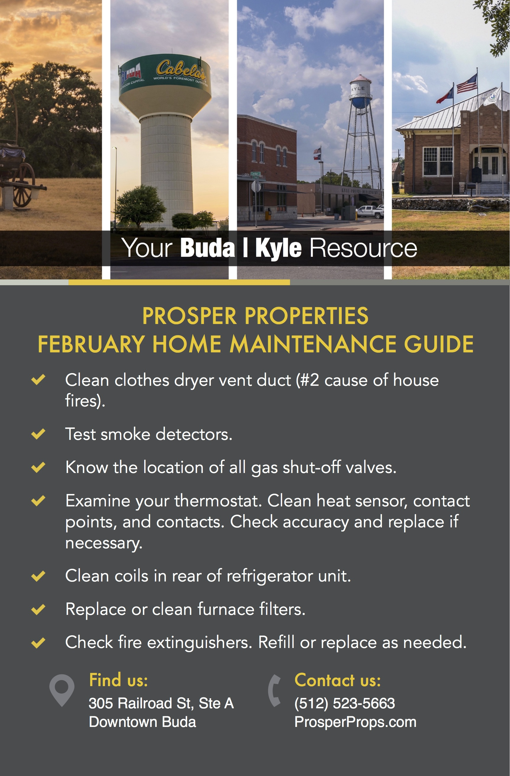February Home Maintenance Guide
