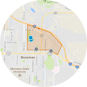 North Bozeman Real Estate Map Search
