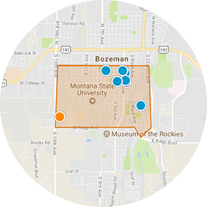 University District Real Estate Map Search