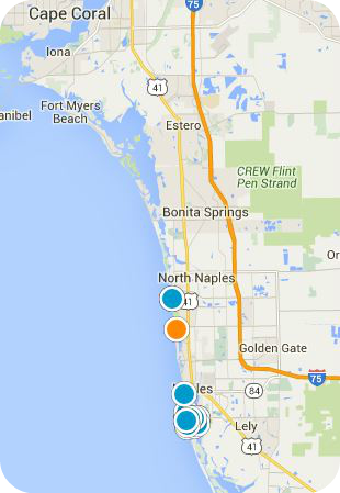 Southwest FL Real Estate Map