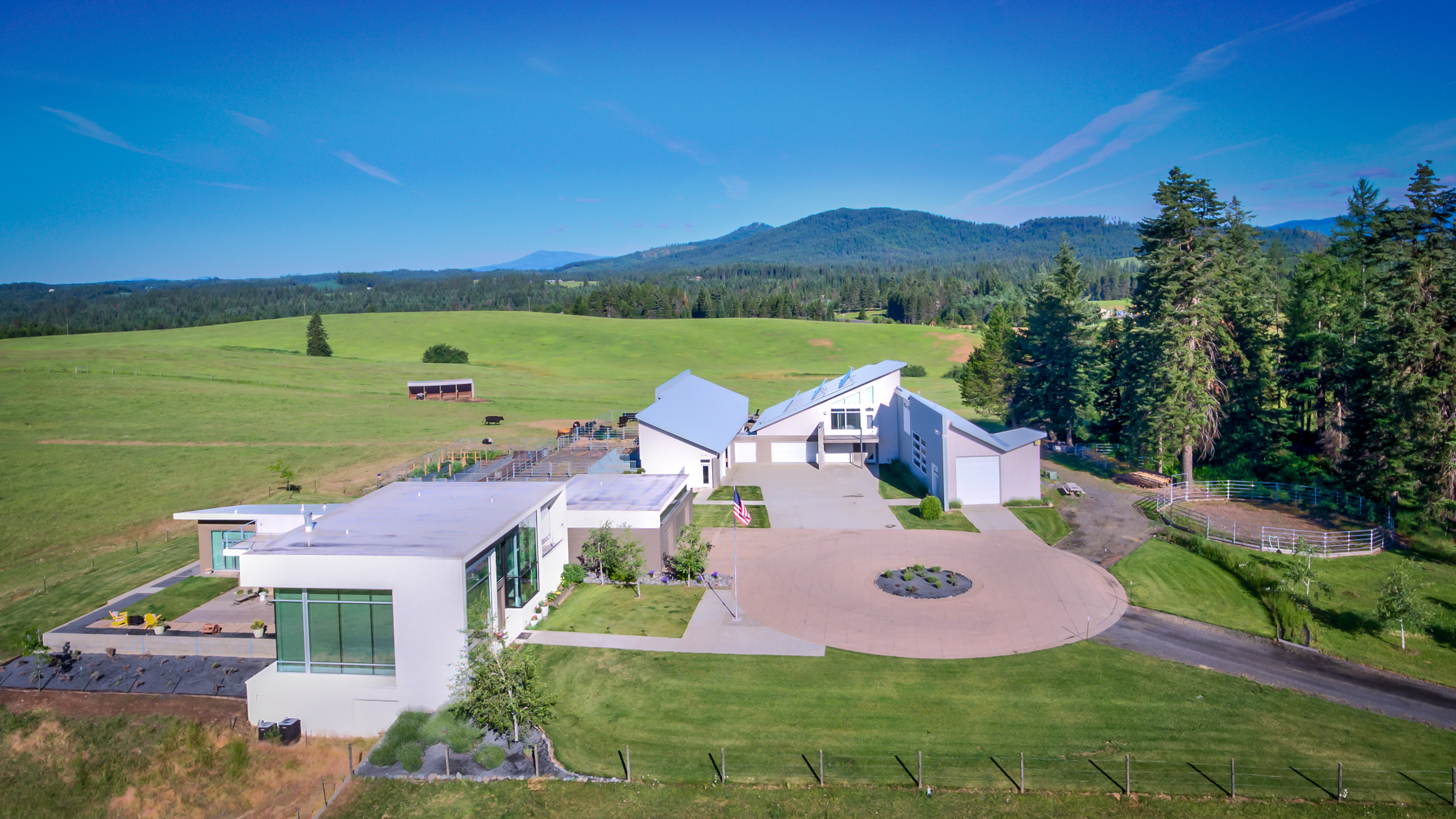 MODERN NORTH CENTRAL IDAHO RANCH ON 233 ACRES