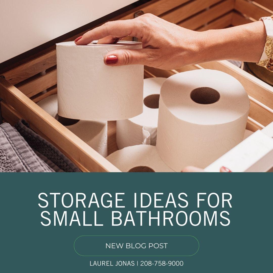 Storage Ideas For Small Bathrooms_Laurel Jonas Blog