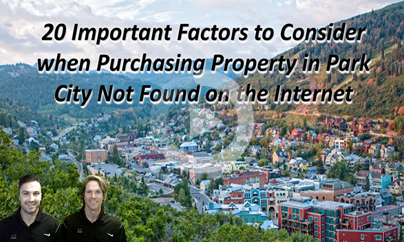 20 Factors to Consider When Buying