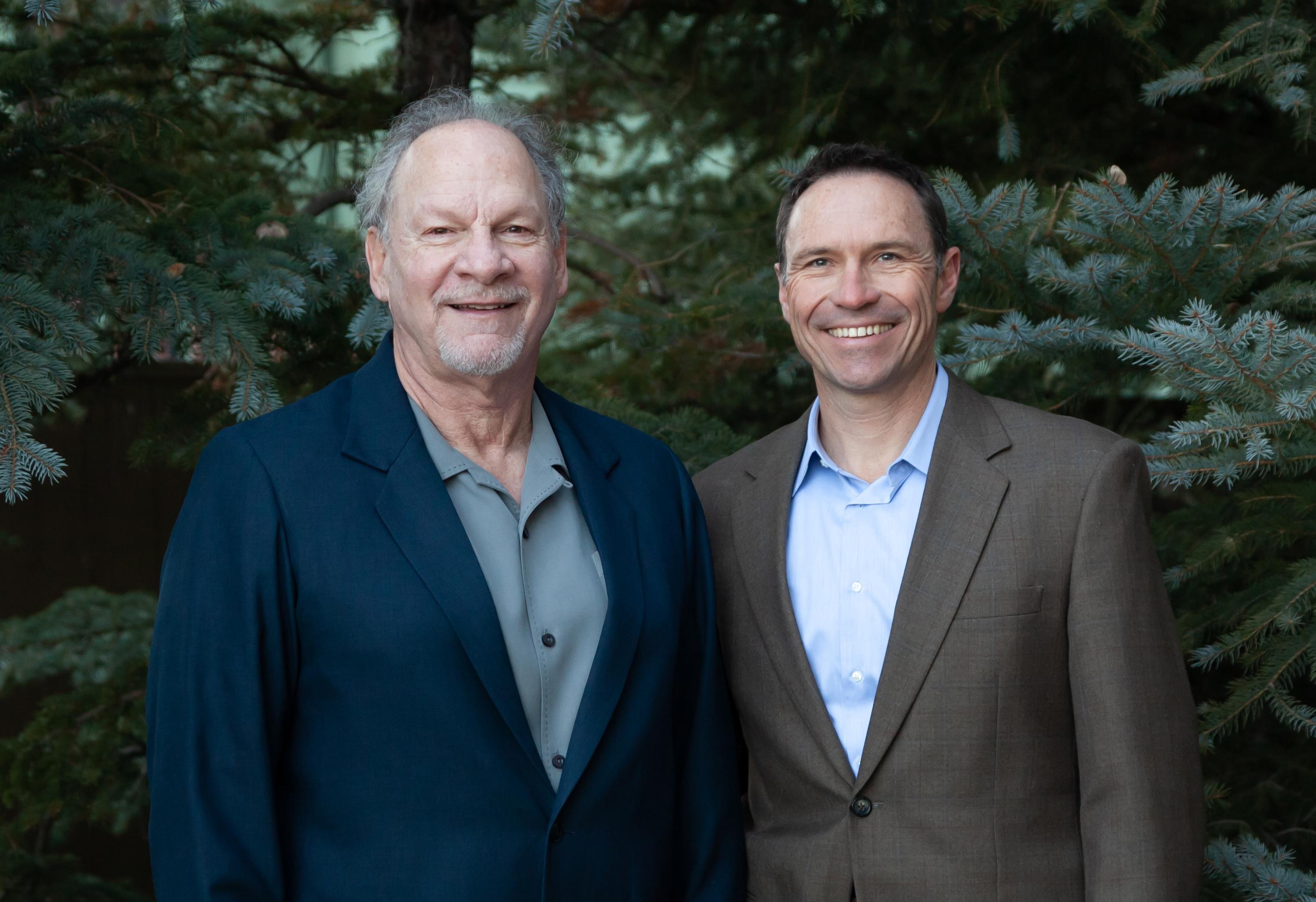 Ron Wilstein and Doug Almstedt