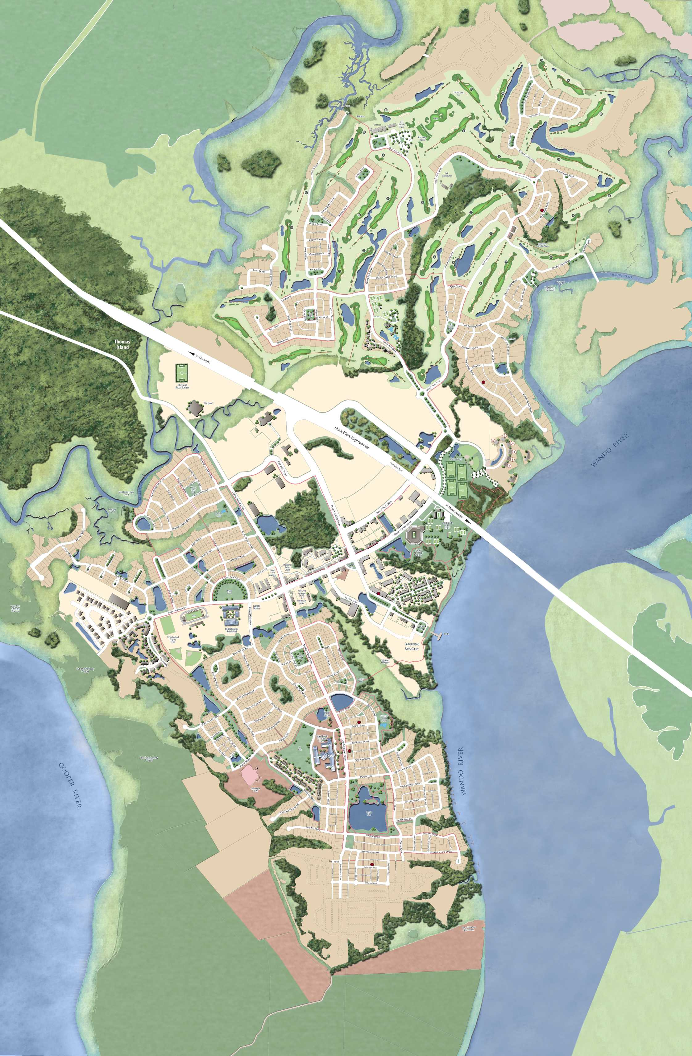 Daniel Island Map Daniel Island South Carolina Real Estate & Homes For Sale