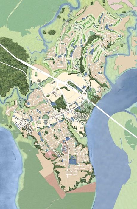 Daniel Island Map