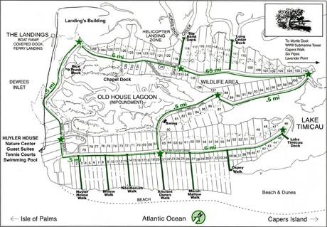 Dewees Island Real Estate Map