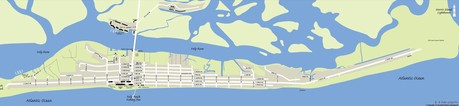 Folly Beach Real Estate Map