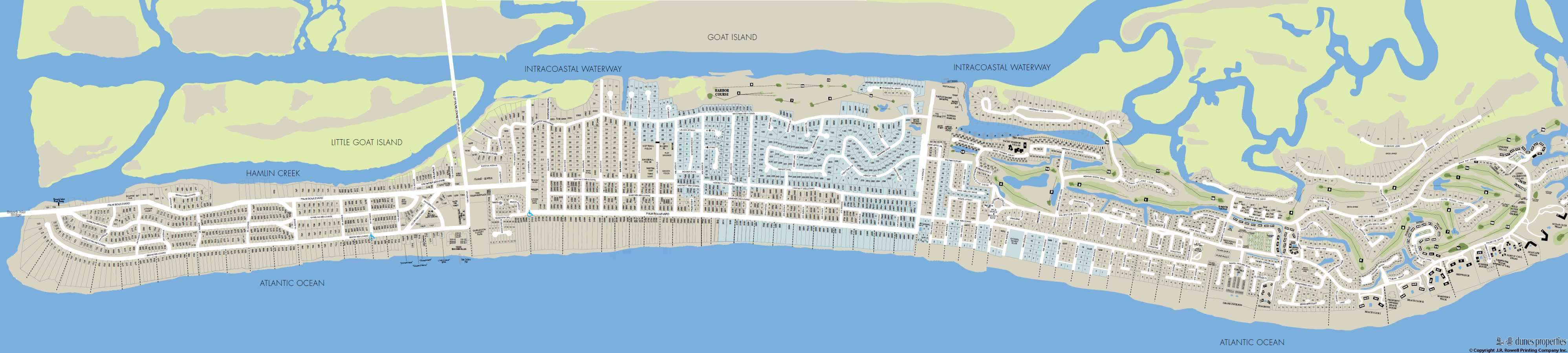 Isle Of Palms Map Isle Of Palms Real Estate Homes & Condo's For Sale & Rent Isle Of Palms Map