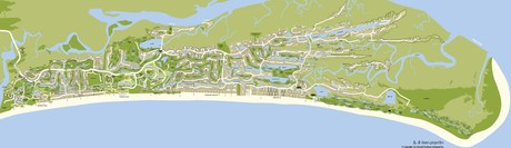 Kiawah Island Real Estate Map