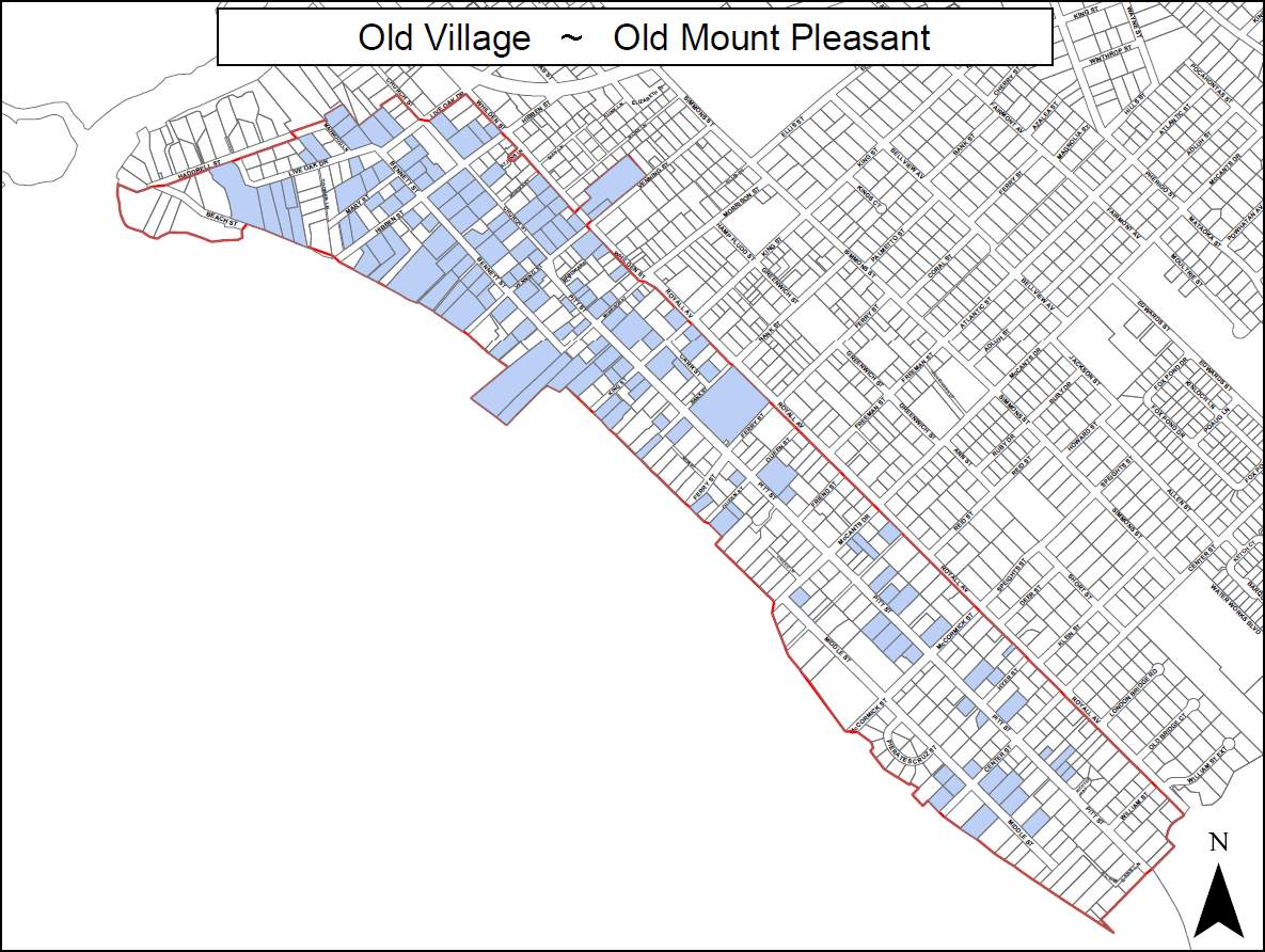 Old Village Mount Pleasant SC Real Estate Buying Selling