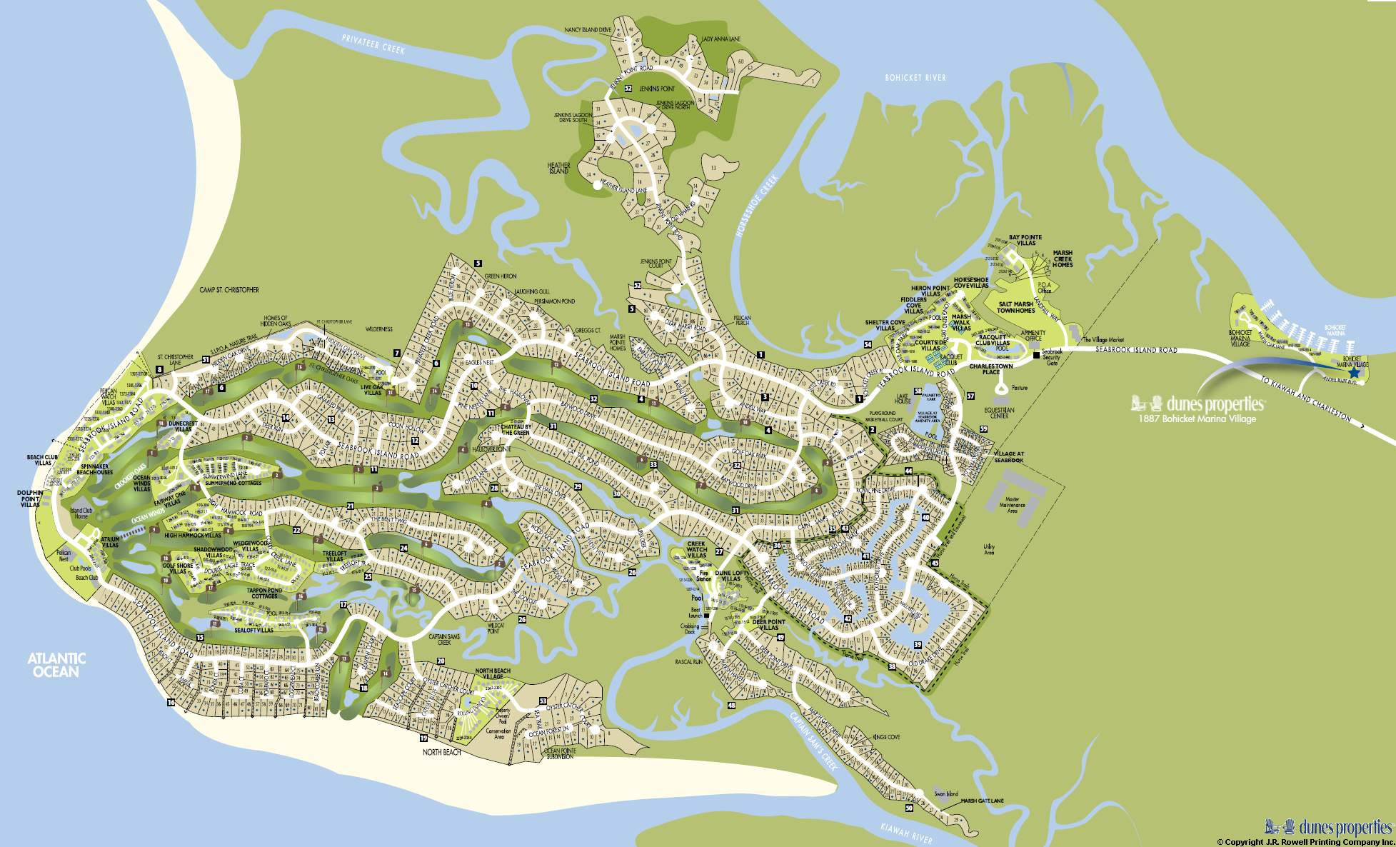 Seabrook Island SC Homes & Land Real Estate For Sale on