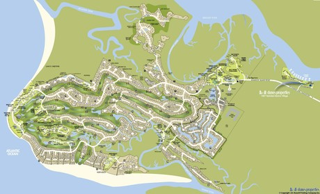 Seabrook Island Real Estate Map
