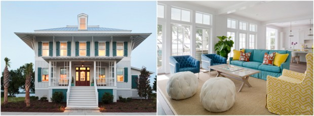 COASTAL LIVING Magazine Showhouse Outside Inside