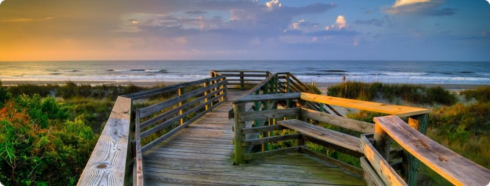 Folly Beach South Carolina Real Estate Picture