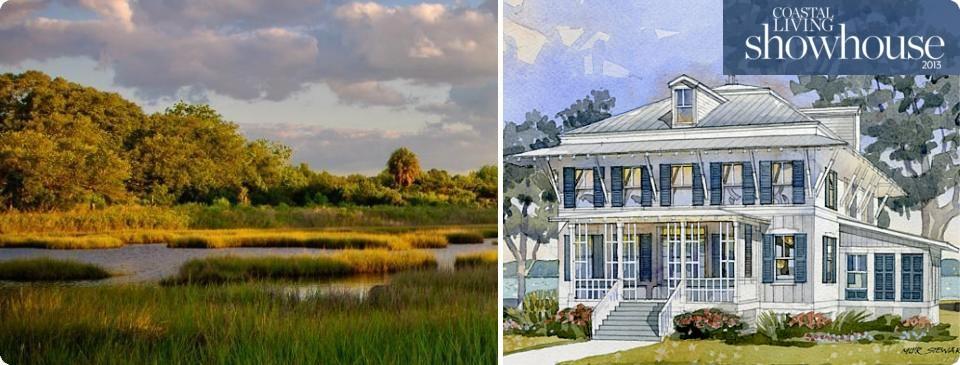 COASTAL LIVING Magazine Showhouse Smythe Park Daniel Island South Carolina Real Estate Picture