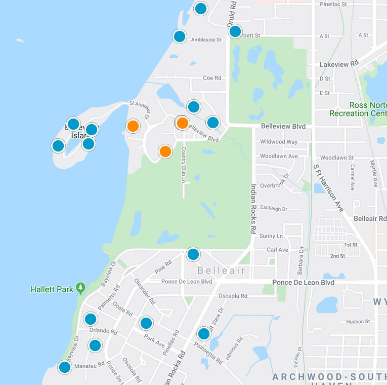 Belleair Map Search picture
