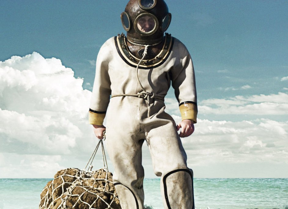 Tarpon Springs Florida Sponge Diver statue image