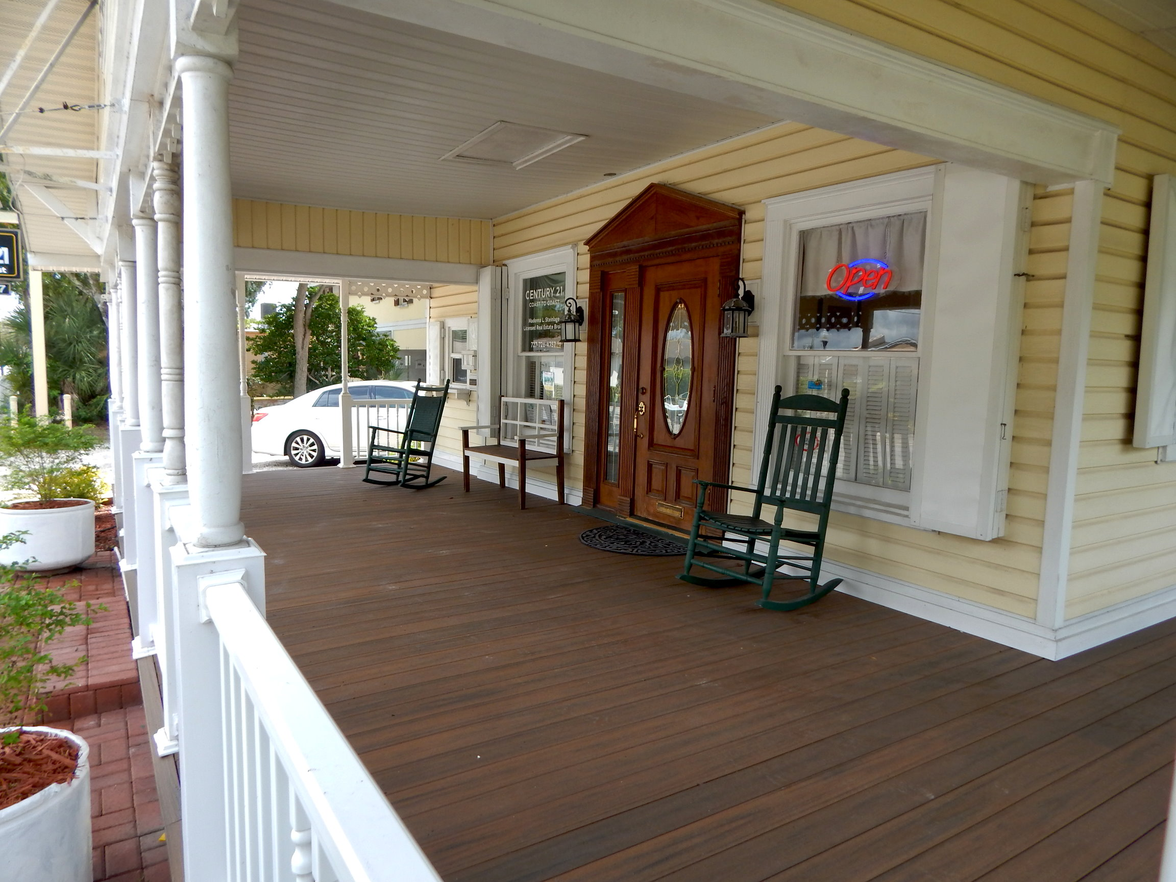 Century21 Coast to Coast Safety Harbor Office Porch
