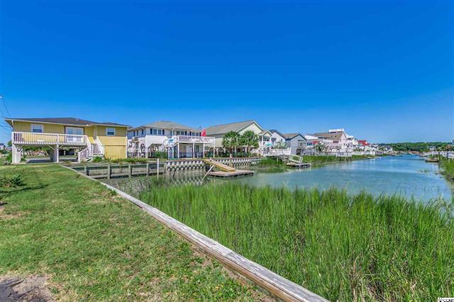 Cherry Grove Channel with Homes