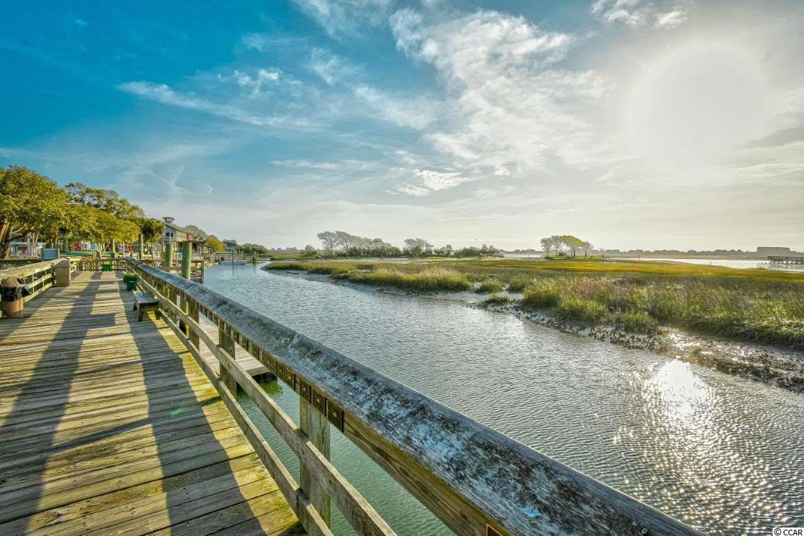 Murrells Inlet Marshwalk Boardwalk overlooking the marsh