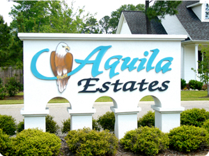 Aquila Real Estate Sign