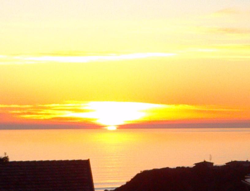 sunset in monterey ca